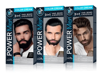 NOWOŚĆ Joanna Power Men Cream Color 3 in 1.