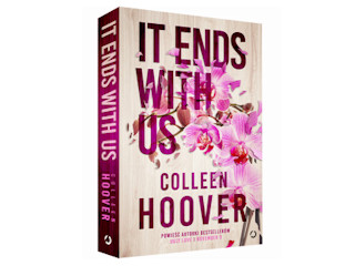 """Nowość wydawnicza """"It Ends with Us"""" Colleen Hoover."""