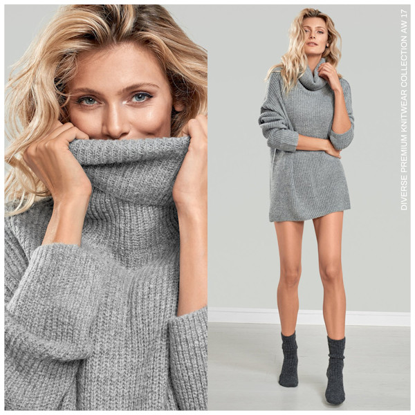 DIVERSE KNITWEAR COLLECTION 2017