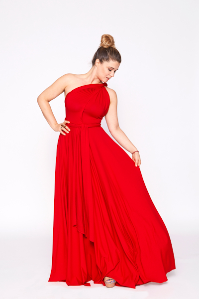 Infinity Dress red