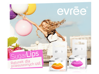 Cukrowy peeling do ust SUGAR LIPS evrēe®.