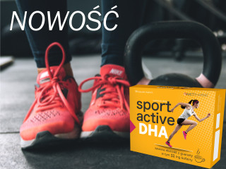 Suplement diety SPORT ACTIVE DHA.