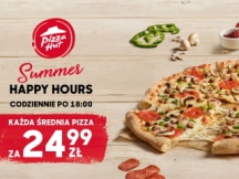 Summer Happy Hours w Pizza Hut