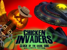Chicken Invaders 5: Cluck of the Dark Side. Halloween Edition